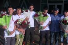Шогирдони гимназияи «Ҳотам ва П.В.» ба хазинаи илми тоҷик боз медал оварданд