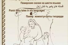 """Китоби """" Афсонаҳои Помир"""" ба нашр расид"""