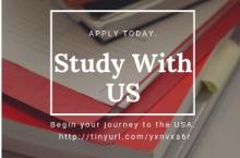 """Таҳсили ройгон барои талабаҳои синфҳои болоӣ  тавассути барномаи """"Study with US""""- и Амрико"""